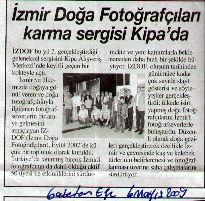 2009-05-06 (Gazete Ege)